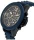 Armani Exchange Men's AX1524 Blue Resin Quartz Watch - Side Image Swatch