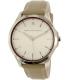 Armani Exchange Women's AX2183 Silver Leather Quartz Watch - Main Image Swatch