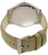 Armani Exchange Women's AX2183 Silver Leather Quartz Watch - Back Image Swatch