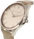 Armani Exchange Women's AX2183 Silver Leather Quartz Watch - Side Image Swatch