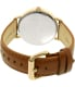 Chaps Women's Whitney CHP1001 Brown Leather Quartz Watch - Back Image Swatch