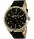 Chaps Men's Bransen CHP5012 Black Leather Quartz Watch - Main Image Swatch