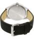 Chaps Men's Bransen CHP5012 Black Leather Quartz Watch - Back Image Swatch