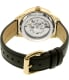 Chaps Women's Kasia CHP9507 Gold Leather Automatic Watch - Back Image Swatch