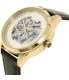 Chaps Women's Kasia CHP9507 Gold Leather Automatic Watch - Side Image Swatch