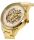 Chaps Women's Kasia CHP9508 Gold Stainless-Steel Automatic Watch - Side Image Swatch