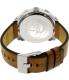 Diesel Men's Machinus DZ1736 Brown Leather Quartz Watch - Back Image Swatch