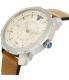 Diesel Men's Machinus DZ1736 Brown Leather Quartz Watch - Side Image Swatch