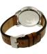 Diesel Men's Rig DZ1749 Silver Leather Quartz Watch - Back Image Swatch