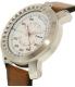 Diesel Men's Rig DZ1749 Silver Leather Quartz Watch - Side Image Swatch