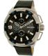 Diesel Men's Heavyweight DZ4392 Silver Leather Quartz Watch - Main Image Swatch