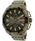 Diesel Men's Heavyweight DZ4394 Gunmetal Stainless-Steel Quartz Watch - Main Image Swatch