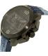 Diesel Men's Ironside DZ4397 Black Leather Quartz Watch - Side Image Swatch