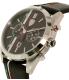 Ferrari Men's 0830237 Black Leather Quartz Watch - Side Image Swatch
