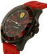 Ferrari Men's XX Kers 0830308 Red Silicone Quartz Watch - Side Image Swatch