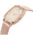 Emporio Armani Women's AR2496 Rose Gold Stainless-Steel Quartz Watch - Side Image Swatch
