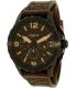 Fossil Men's Nate JR1511 Brown Leather Quartz Watch - Main Image Swatch