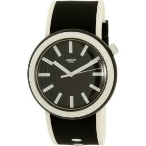 Swatch Men's Originals PNB100 Black Silicone Quartz Watch