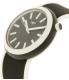 Swatch Men's Originals PNB100 Black Silicone Quartz Watch - Side Image Swatch