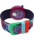 Swatch Men's Originals PNP101 Multi Silicone Quartz Watch - Back Image Swatch