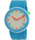 Swatch Men's Originals PNW102 Blue Silicone Quartz Watch - Main Image Swatch