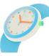 Swatch Men's Originals PNW102 Blue Silicone Quartz Watch - Side Image Swatch