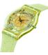 Swatch Women's Classic SFG106 Green Silicone Swiss Quartz Watch - Side Image Swatch