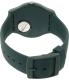 Swatch Men's New Gent SUON117 Blue Silicone Quartz Watch - Back Image Swatch