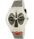 Swatch Men's New Gent SUOW122 Black Silicone Swiss Quartz Watch - Main Image Swatch