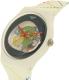 Swatch Men's Originals SUOW128 White Silicone Quartz Watch - Side Image Swatch