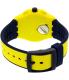 Swatch Men's Chrono Plastic SUSJ401 Yellow Silicone Quartz Watch - Back Image Swatch