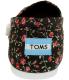Toms Women's Alpargata Floral Textile Ankle-High Synthetic Flat Shoe - Back Image Swatch