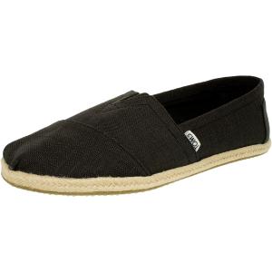 Toms Men's Alpargata Linen Ankle-High Fabric Flat Shoe