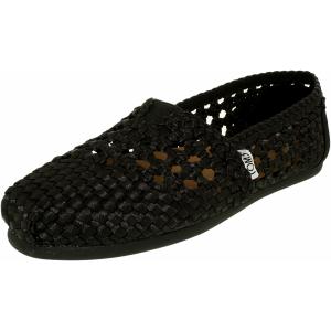 Toms Women's Alpargata Satin Woven Ankle-High Satin Flat Shoe