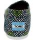 Toms Women's Alpargata Vintage Canvas Ankle-High Canvas Flat Shoe - Back Image Swatch