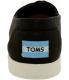 Toms Women's Avalon Slipon Canvas W Ankle-High Canvas Flat Shoe - Back Image Swatch