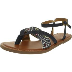 Toms Women's Lexie Woven Ankle-High Nylon Sandal