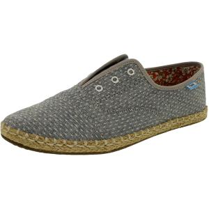 Toms Women's Palmera Slipon Chambray Ankle-High Fabric Flat Shoe