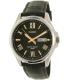 Casio Men's MTP1377L-1AV Black Leather Quartz Watch - Main Image Swatch
