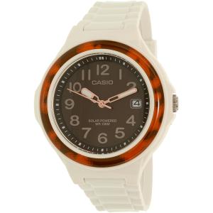 Casio Women's Classic LXS700H-5BV White Plastic Quartz Watch