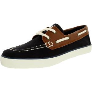 Polo Ralph Lauren Boy's Sander-Cl Canvas Leather Ankle-High Canvas Flat Shoe