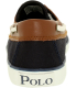 Polo Ralph Lauren Boy's Sander-Cl Canvas Leather Ankle-High Canvas Flat Shoe - Back Image Swatch