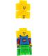 Lego Boy's 8020189 Multicolor Plastic Quartz Watch - V4 Image Swatch