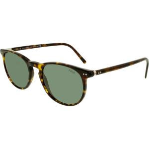Ralph Lauren Men's  PH4044-500371-52 Tortoiseshell Round Sunglasses
