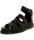 Dr. Martens Women's Clarissa Leather Ankle-High Leather Sandal - Main Image Swatch