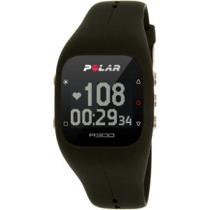 Polar Men's A300 90051952 Black Silicone Quartz Watch