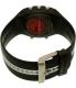 Polar Men's Ft7 90054889 Black Rubber Quartz Watch - Back Image Swatch