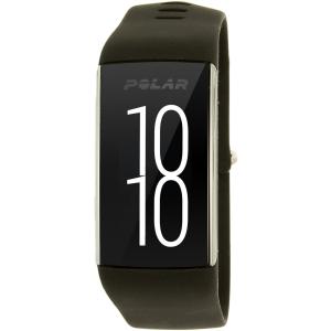 Polar Men's A360 90057420 Black Silicone Quartz Watch