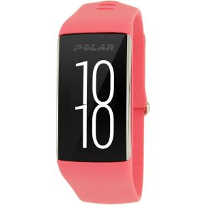 Polar Women's A360 90057441 Pink Silicone Quartz Watch