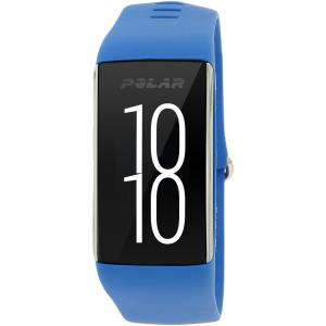 Polar Men's A360 90057446 Blue Silicone Quartz Watch